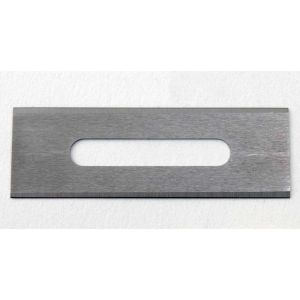 """.015"""" Double Edge Tungsten Carbide Slotted Blade - 5/Pack, 5/Pack"""