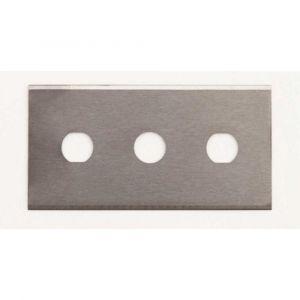 """.016"""" Tungsten Carbide Three Hole Slitter Blade - 5/Pack"""