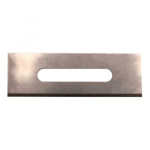 0.015 Inch Square End Stainless Steel Slotted Blade - 100/Container